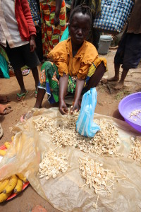 Selling termitomyces