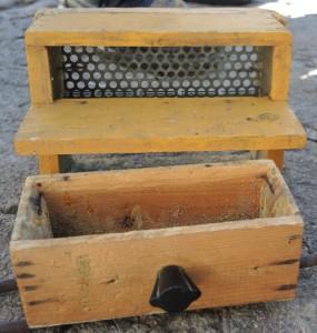 bee polen trap