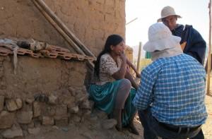 leyendo sobre quinua con Juan y Eliseo