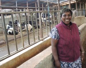 peris Njenga dairy farmer